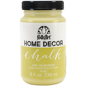 Yellow Crochet - FolkArt Home Decor Chalk Paint 8oz