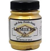 Metallic Gold - Jacquard Lumiere Metallic Acrylic Paint 2.25oz