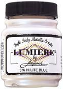 Hi-Lite Blue - Jacquard Lumiere Metallic Acrylic Paint 2.25oz
