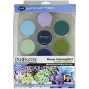 PanPastel Ultra Soft Artist Pastel Set 9ml 7/Pkg - Flower Coloring Kit #2-Susan'