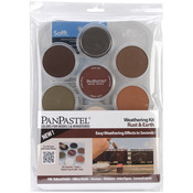 Weathering-Rust And Earth - PanPastel Ultra Soft Artist Pastel Set 9ml 7/Pkg