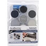 PanPastel Ultra Soft Artist Pastel Set 9ml 7/Pkg - Weathering - Grays, Grime And