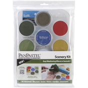 PanPastel Ultra Soft Artist Pastel Set 9ml 7/Pkg - Scenery