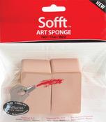 PanPastel Sofft Art Sponge 2/Pkg - Flat Angle
