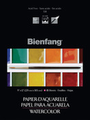 "15 Sheets - Bienfang Watercolor Paper Pad 9""X12"""