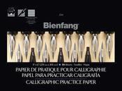 "50 Sheets - Bienfang Calligraphic Practice Paper Pad 9""X12"""