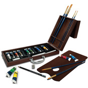 Acrylic Painting - Premier Easel Set
