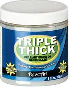 8oz Jar - Triple Thick Brilliant Brush-On Gloss Glaze