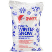 6oz - Plastic Winter Snow