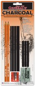 Charcoal Drawing Essentials Tool Kit