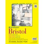 "100lb 20 Sheets - Strathmore Bristol Smooth Paper Pad 14""X17"""