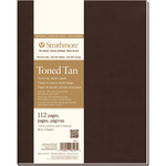 """7.75""""X9.75"""" Strathmore Softcover Toned Tan Sketch Journal"""