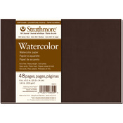 Strathmore Softcover Watercolor Journal -Cold Press 140lb 48 Pages