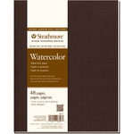 """Cold Press 140lb 48 Pages - Strathmore Softcover Watercolor Journal 7.75""""X9.75"""""""