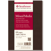 """90lb 64 Pages - Strathmore Softcover Mixed Media Journal 5.5""""X8"""""""
