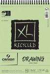 """60 Sheets - Canson XL Recycled Spiral Drawing Paper Pad 9""""X12"""""""