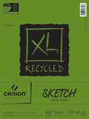 """100 Sheets - Canson XL Recycled Sketch Book 9""""X12"""""""