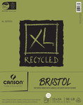 """Canson XL Recycled Bristol Paper Pad 11""""X14""""-25 Sheets"""