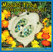Mosaic Frog Stone Kit