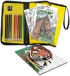 Color Pencil By Number - Big Kid's Choice Easy To Do Keep 'N Carry Set