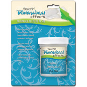 White - Dimensional Effects Texture Paste 4oz Carded