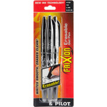Black - Pilot FriXion Ball Erasable Gel Pens 3/Pkg