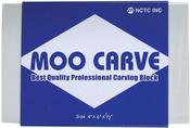 "4""X6""X.5"" - Moo Carving Block"