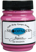 Magenta - Jacquard Neopaque Acrylic Paint 2.25oz