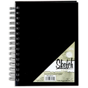 """Pro Art Sketch Book 5.5""""X8"""", 160 Pages -"""