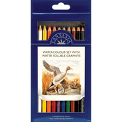 Watercolor - Pro Art Fantasia Pencils 10/Pkg