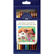 Blendable Color - Pro Art Fantasia Pencils 10/Pkg