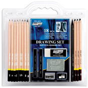 18pcs - Pro Art Drawing Set