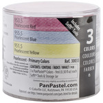 Primary (Red, Blue and Yellow) - PanPastel Pearlescent Artist Pastels Set 9ml