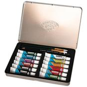 Watercolor Painting Art Set W/Tin-
