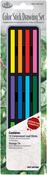 Color Stick Drawing Set W/Tin