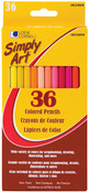 Simply Art Colored Pencils 36/Pkg-