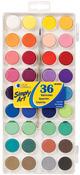 Assorted Colors - Simply Art Watercolor Paint Cakes 36/Pkg