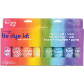 Mixed Colors - Tumble Dye Craft And Fabric Spray 2oz 8/Pkg