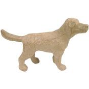 """Dog - Paper Mache Figurine 4.5"""""""