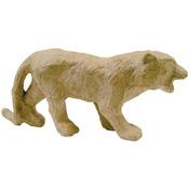 "Tiger - Paper Mache Figurine 4.5"""