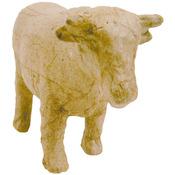 """Cow - Paper Mache Figurine 4.5"""""""