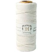 White - Bamboo Cord Spool 20lb 205'/Pkg