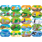 Animal Matching - Mini Learning Games 40 Pieces