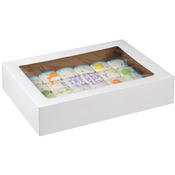 "2/Pkg 19""X14""X4"" - Corrugated Cake Boxes"