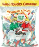 Assorted Colors - Nylon Weaving Loops 16 Ounces