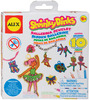 Ballerina Jewelry - Shrinky Dinks Kit ALEX TOYS-Shrinky Dinks Jewelry Kit. Make your own charms, decorations and more with Shrinky Dinks! This kit contains ten precut preprinted Shrinky Dink shapes, eight colored pencils, one chain bracelet, two earring hooks, ten rings, one necklace loop, and easy instructions. Requires use of an oven: Adult supervision required. Conforms to ASTM D4236 and F963. Recommended for ages 5 and up. WARNING: CHOKING HAZARD-Small Parts. Not for children under 3 years. Caution: Functional Sharp Point-Contains earrings. Imported.