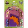 Cupcakes & Butterflies - Perler Fun Fusion Fuse Bead Activity Kit
