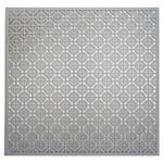 "Mosaic - Silver Colored Metal Sheet 12""X12"""