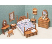 Bedroom - Dollhouse Furniture Kit