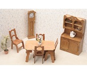 Dining Room - Dollhouse Furniture Kit